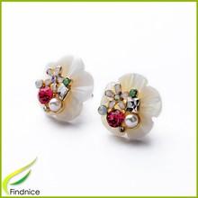 Wholesale Jewelry Factory Direct Sale Rhinestone Women Fashion Earring