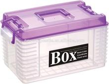 2015 transparent plastic medical portable box