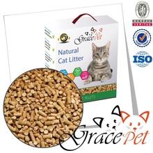Ecologically clean super absorbent pine pellet cat litter cat sand