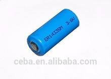 CEBA 3.6v lithium battery er14505M aa 2000mAh