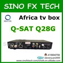 open English and French channels strong decoder dvb-s2 & dvb-t2 q-sat q28g qsat q26g