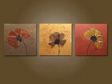 High Quality HandPainted Fashional Modern Flower Oil Painting