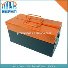 Yiwu Jinhua high quality portable metal empty tool box
