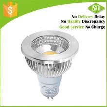 450lm 5w dimmable gu5.3 mr16 high voltage 220v ceiling led light