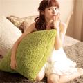 Pv felpa fundas de colchón y almohada cojín en color de la luz, cojín decoración de hogar
