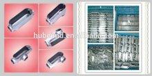 electrical conduit connectors,Aluminum,gray