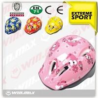 pink/red/blue/yellow color kid fun helmet/children bike helmet for sale