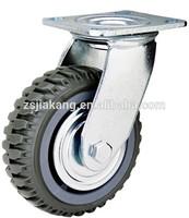 PVC 8 inch swivel caster heavy truck wheels