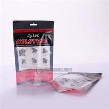 Alibaba Best Seller High Quality Printed Standing Zipper Vinyl Garment Bag