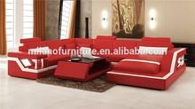 hot top leather u shape caliaitalia leather sofa