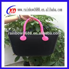 2012 Portable lady favourite silicone shoulder bag