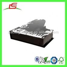 Q1073 Novelty Cardboard Piano Shape Music Box Made In China