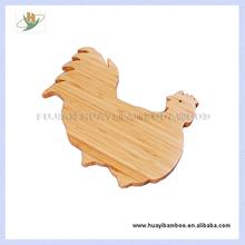 """Bamboo Map Shape Wooden Cutting Board Serving Board """