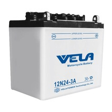 12V24AH MOTORCYCLE DRY CHARGED STORAGE BATTERY