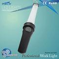 Ce& rohs onaylı yüksek kaliteli pil led çalışma ışığı/led şarjlı sel fenerler
