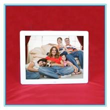 New plastic 12 inch digital photo frame 4:3 YW-120F1