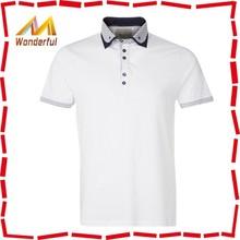 2015 new arrive best selling bulk wholsale cotton plain white polo t-shirt