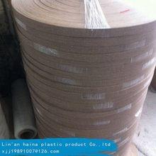 Inferior preço de venda quente para borda de madeira maciça de bandas personalizado rolo de fita de pvc
