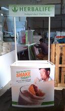 foamed pvc board promotional adjustable plastic folding table