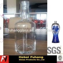 Whisky/Rum/Vodka 750ML glass bottles. New design