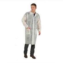 EASTNOVA DC011-2 white hospital 100% cotton lab coat