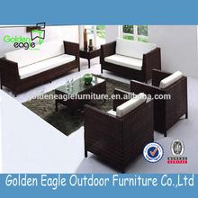 Leisure rattan outdoor furniture suite 1+2+3 sofa set
