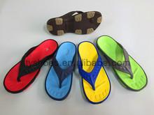 colorful nude flip flops for men