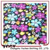 new flower knitted coral fleece traditional textile design