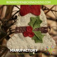 Handmade felt Bell pendant