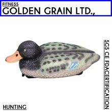 Plastic life-like Decoys for duck hunting