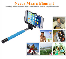 OEM handheld Stainless steel ,metal alloy Material bluetooth self timer pole with Battery Capacity 45mAh