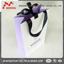 Wholesale OEM cheap printing paper baseball gift bags