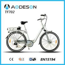 Cheap step bike city bike 250w TF702 electric tricycle