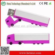 plastic truck shaped usb flash drive, truck shape usb stick 1000gb, truck usb 1gb cheap