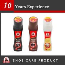 Plastic bottle black brown natural neutral shoe wax
