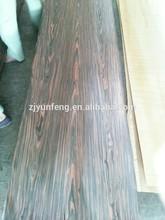 supply quality fine line reconstituted wood veneer ebony for doors
