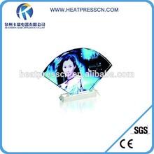 beautiful crystal photo with sublimation image