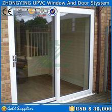 Thermal break design upvc window channel