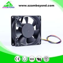 temperature controlled high cfm 12v dc fan dc axial fan