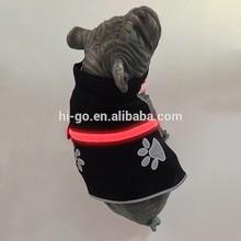 2015 popular innovative pet product led safety pattern dog harness vest