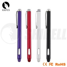 Jiangxin colorful rubber tip stylus pen, custom cute touchpen
