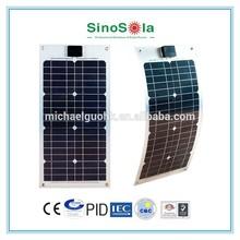 Easy Light Weight mini flexible solar panel for Boat Caravan Golf Car RV Kit Solar System home with TUV/PID/CEC/CQC/IEC/CE