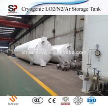 Vacuum Powder Insulation Cryogenic Liquid CO2 Storage Tank