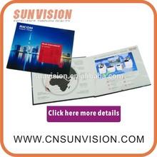 Artificial Full HD loop 1080P Andriod 7 inch Paper handmade video advertising display