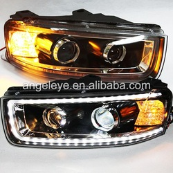 2011-2015 Year For CHEVROLET Captiva LED Head Light Black Housing