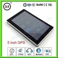 5inch Touch Screen Car GPS navigator WINCE6.0+FM Transmitter-IN+4GB+MP3/MP4 player 5''YC-Y51 gps tracking system