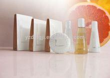 hotel bath gel shampoo conditioner body lotion bath foam /hair brush and comb sets