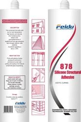 Special Use for glass fish tank Silicone Sealant/Silicon Sealant 878