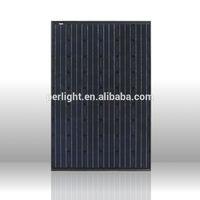 High quality high efficiency 12v 24v 36v 48v solar panel