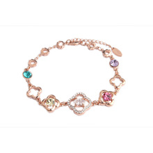 Wholesale Alibaba Fashion Design Bracelet Jewelry Personalized Copper Bracelet HSL-137